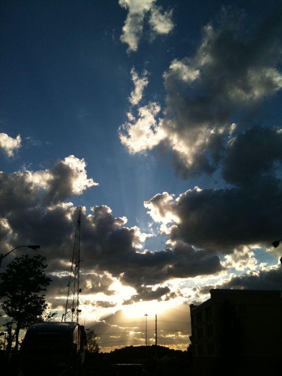 Clouds.....