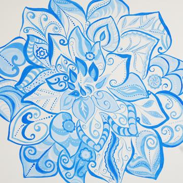 Bluepainting